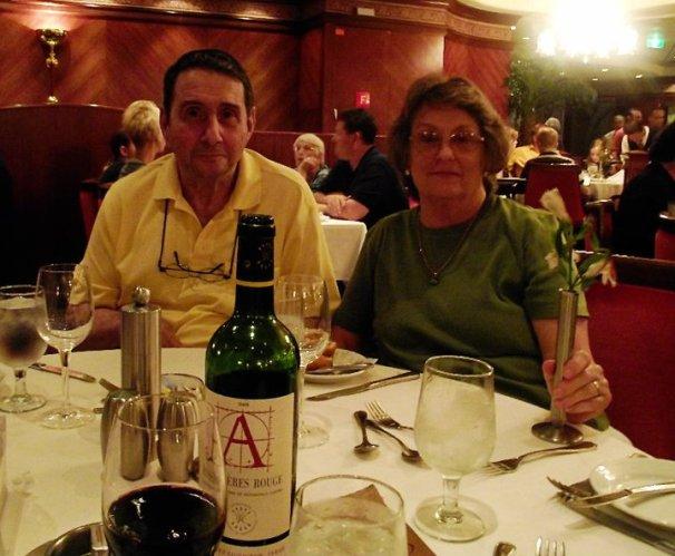 Mom and David